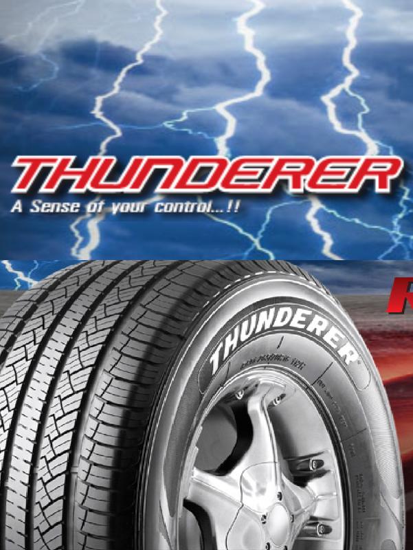 Thunderer Tires - SHEEHAN INC